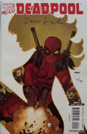 Deadpool #900 Dynamic Forces Signed Duane Swierczynski DF COA Ltd 75 Marvel comic book
